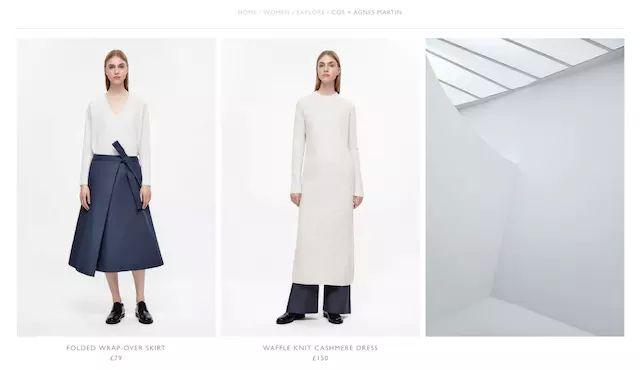 H&M旗下品牌COS 借了抽象表现主义画家的东风(图3)