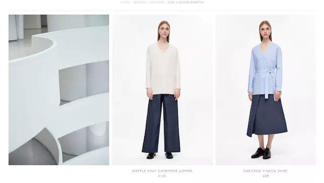 H&M旗下品牌COS 借了抽象表现主义画家的东风(图4)