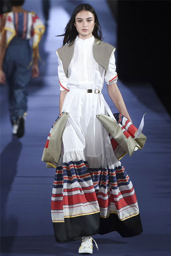 2017春夏巴黎时装周系列