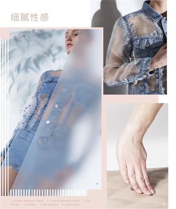2019春夏女装丹宁流行趋势 身心触动