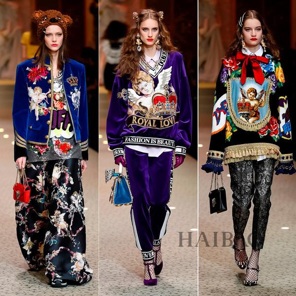 Dolce&Gabbana 2018秋冬米兰女装秀(图5)