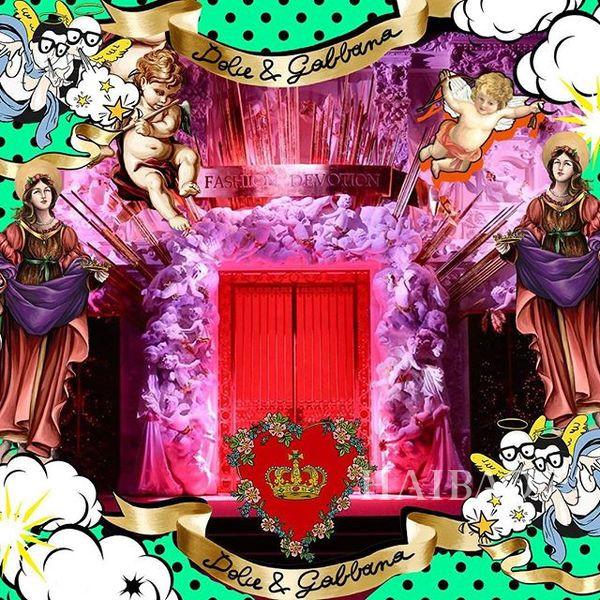 Dolce&Gabbana 2018秋冬米兰女装秀(图8)