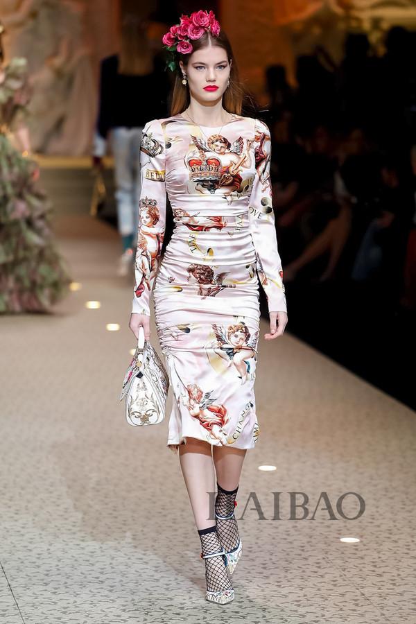 Dolce&Gabbana 2018秋冬米兰女装秀(图24)