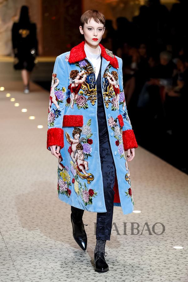 Dolce&Gabbana 2018秋冬米兰女装秀(图34)