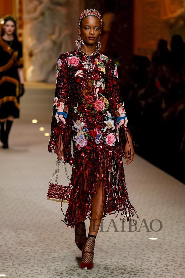 Dolce&Gabbana 2018秋冬米兰女装秀(图46)