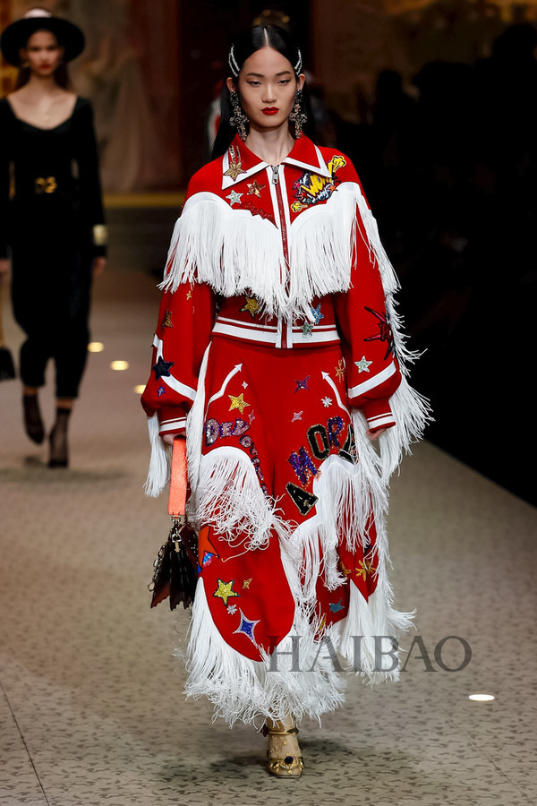 Dolce&Gabbana 2018秋冬米兰女装秀(图63)