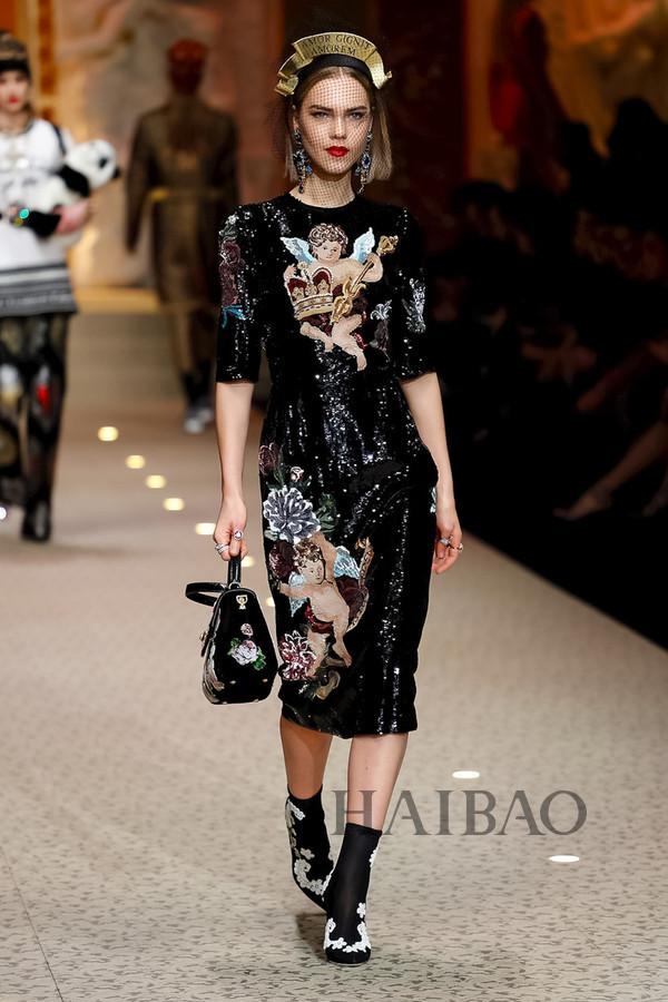 Dolce&Gabbana 2018秋冬米兰女装秀(图66)