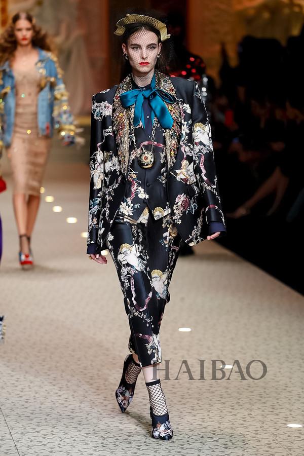 Dolce&Gabbana 2018秋冬米兰女装秀(图68)