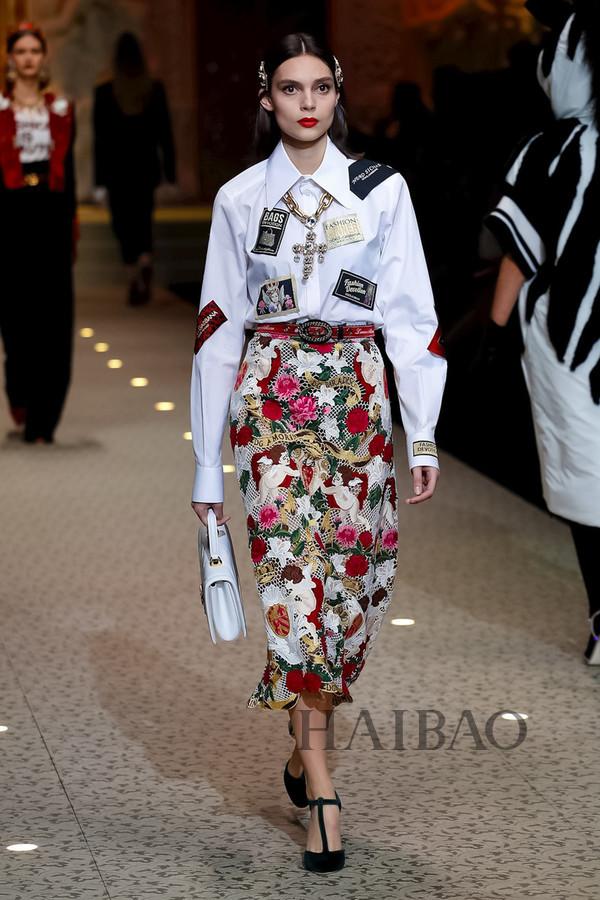 Dolce&Gabbana 2018秋冬米兰女装秀(图72)