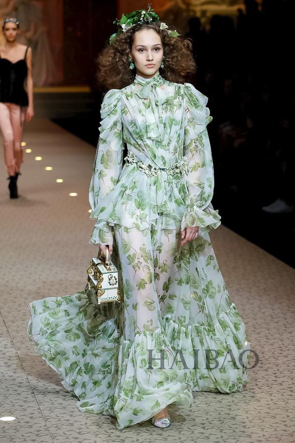 Dolce&Gabbana 2018秋冬米兰女装秀(图80)
