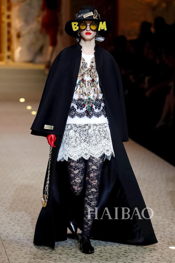 Dolce&Gabbana 2018秋冬米兰女装秀(图84)