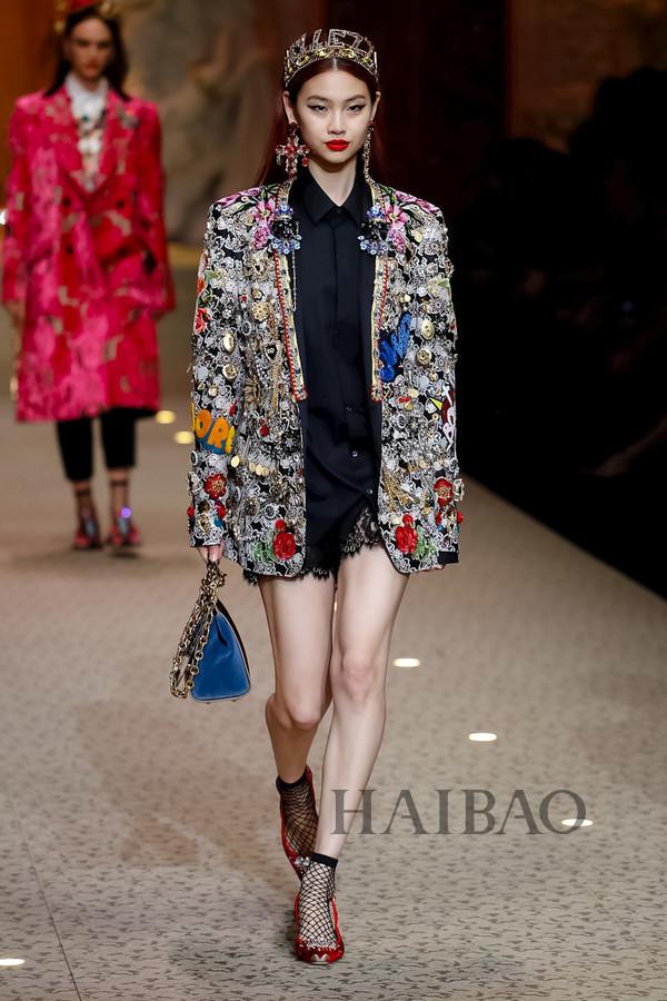 Dolce&Gabbana 2018秋冬米兰女装秀(图88)