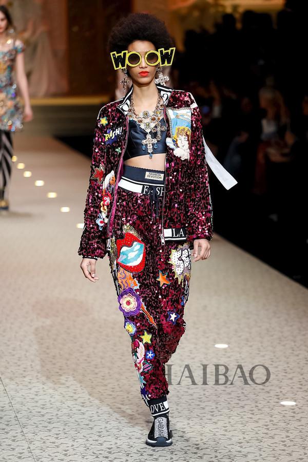 Dolce&Gabbana 2018秋冬米兰女装秀(图92)