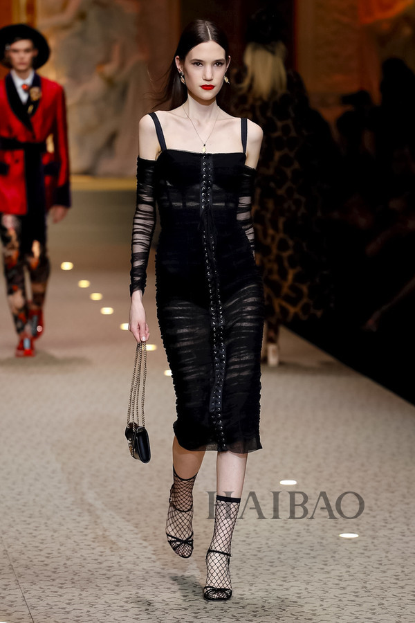 Dolce&Gabbana 2018秋冬米兰女装秀(图101)