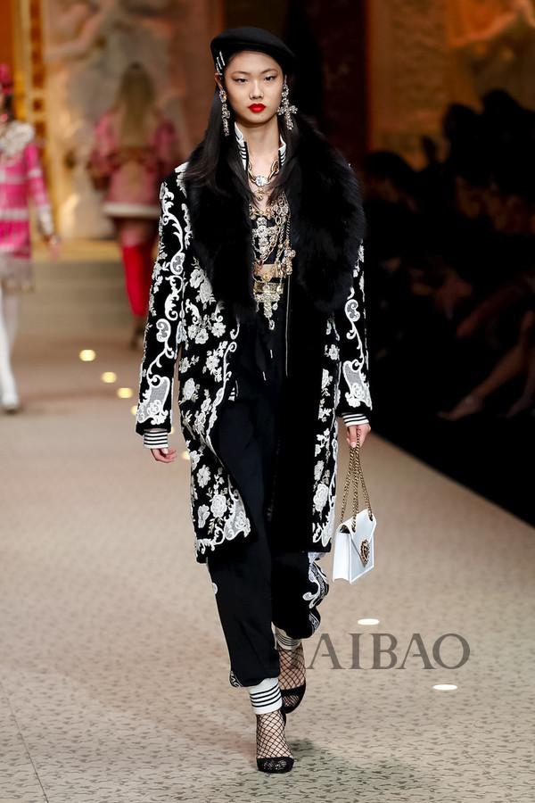 Dolce&Gabbana 2018秋冬米兰女装秀(图105)