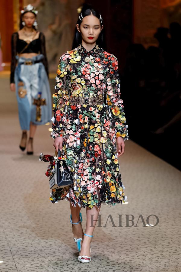 Dolce&Gabbana 2018秋冬米兰女装秀(图108)