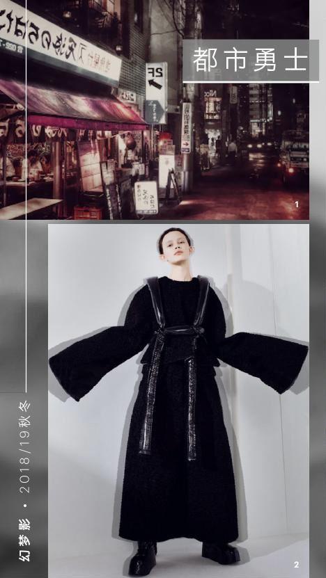 2018/19秋冬女装流行趋势:幻梦影,科技时尚