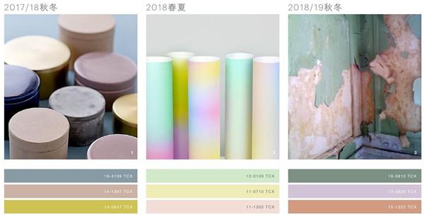 2018/19秋冬流行色彩的演变