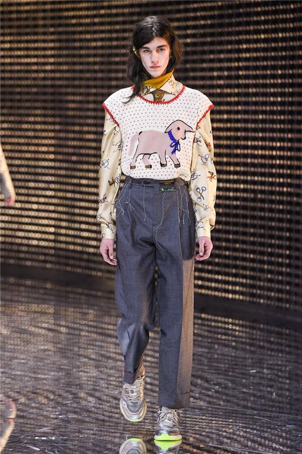 Gucci 2019秋冬米兰时装秀