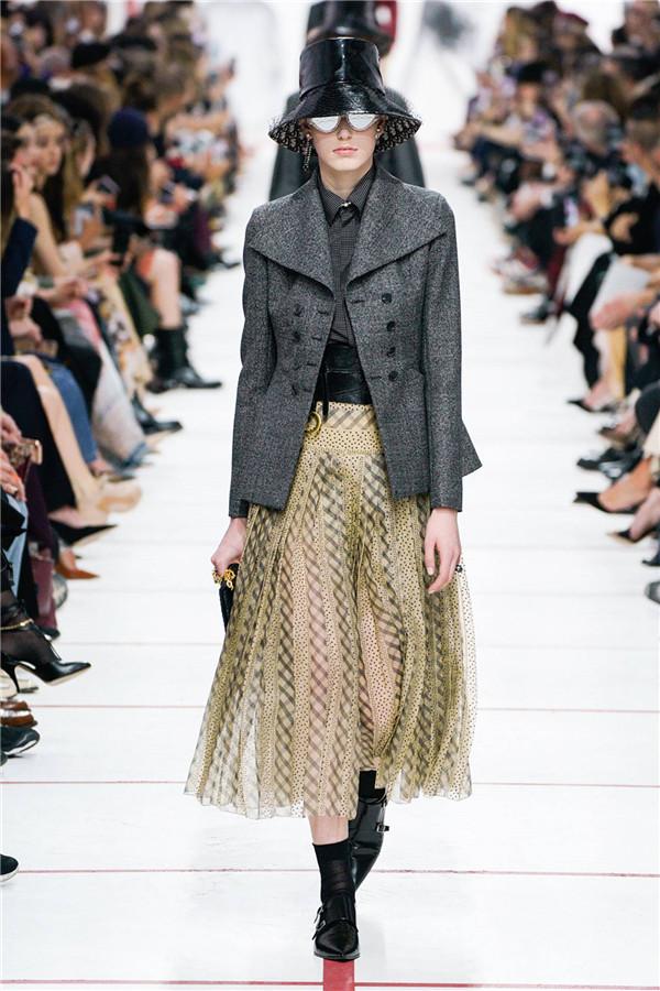 Dior 2019秋冬巴黎時裝大秀